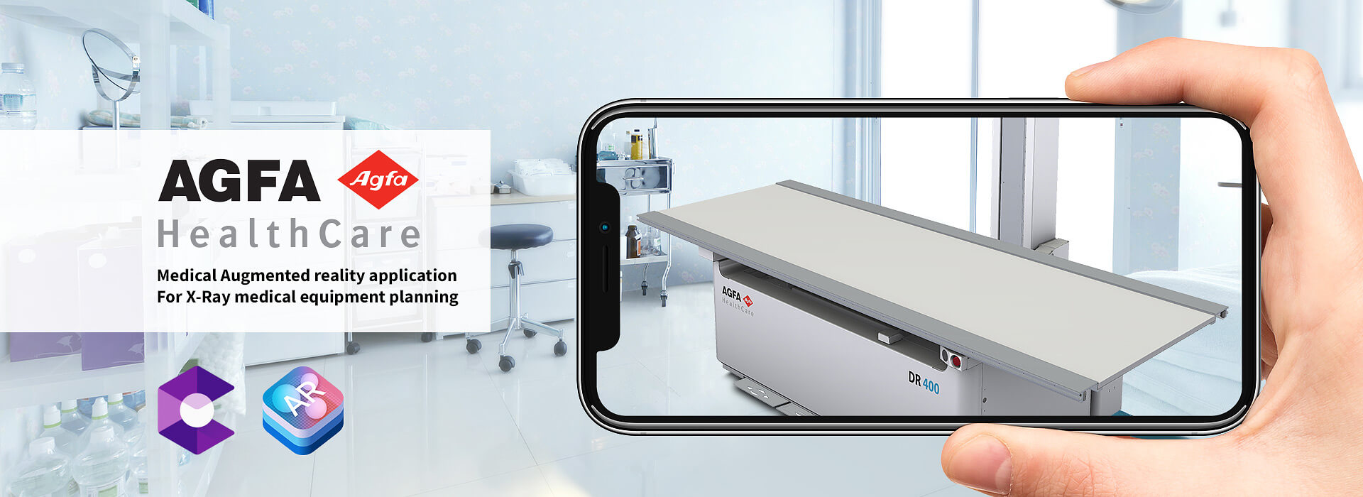 AGFA medical augmented reality application